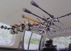 ロッド ホルダー 車